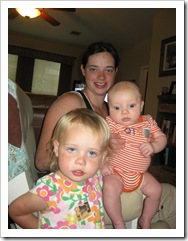Aunt Stephanie, Avery & Reid, 5-24-09