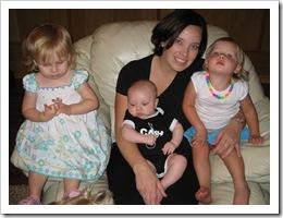 Annabelle, Reid, Jenny & Avery, 6-19-09