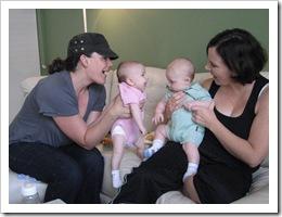 Amie, Raquel, Reid & Jenny, 7-8-09