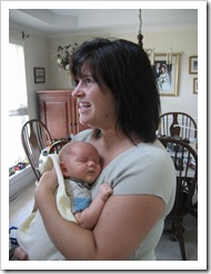 Aunt Holly and Baby Alex! 9-4-09