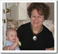 Reid & Aunt Karen, 9-5-09