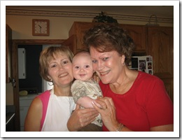 Ammy & Aunt Karen with Reid