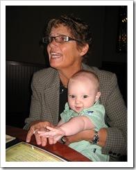 Aunt DiDi and Reid, 9-11-09
