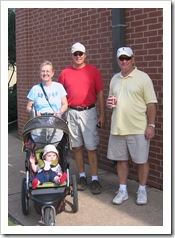 "Reid, Bobbie, Michael & Papa at the local elementary school's ""Fall Festival"" 11-14-09"