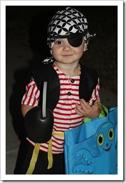 Happy Little Pirate - Halloween 2010