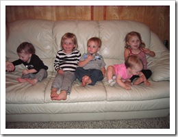 Carly, Avery, Reid, Faith & Annabelle - Oct. 2010