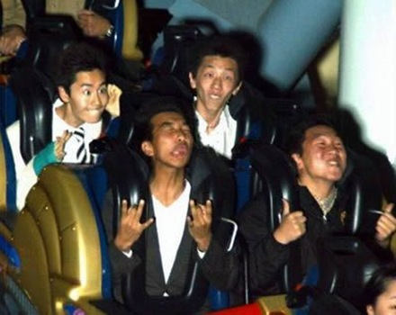 funny reaction rollercoaster