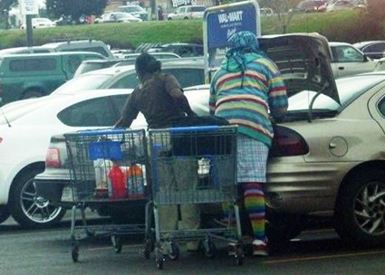 weird people walmart 7