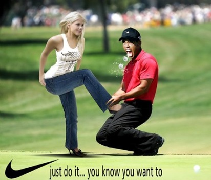 tiger wood scandal advertisement