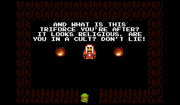 Link zelda visits mother video game blog critic major geek nerd fantasy gaming