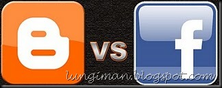 Facebook VS Blogspot