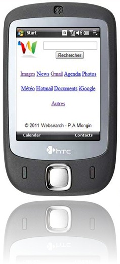 HTC Touch websearch