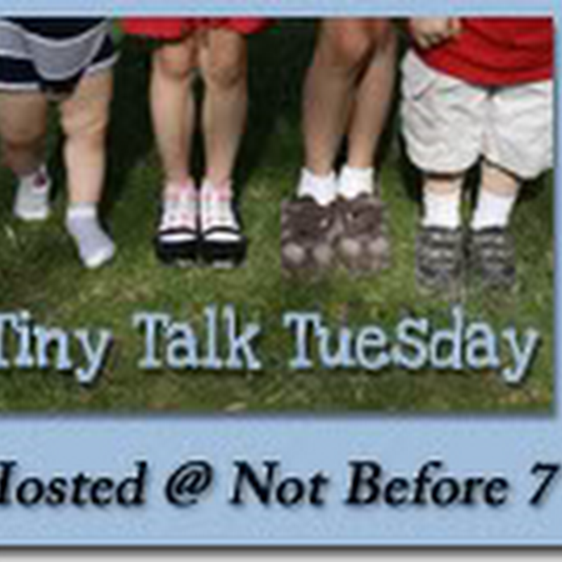 Tiny Talk Tuesday – Real or Make-Believe