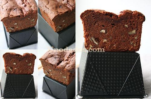 Cake de chocolate y pacanas