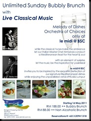 Bubbly Brunch with Classical Music 1