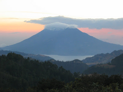 volcanoes-porn-antigua guatemala-atitlan-fuego-agua volcano-Xela-rainy season-clouds