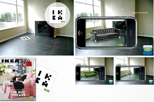 家具の選び方が変わる、IKEAのARカタログ(IKEA Augmented Catalogue)