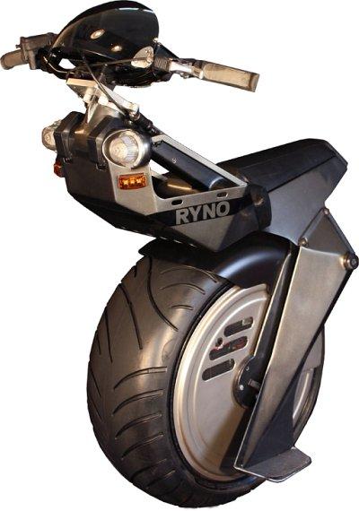 モータースポーツ感のある電動一輪車(Ryno) + monogocoro
