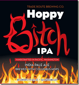 hoppy_bitch-label