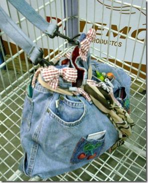 jeans bag side