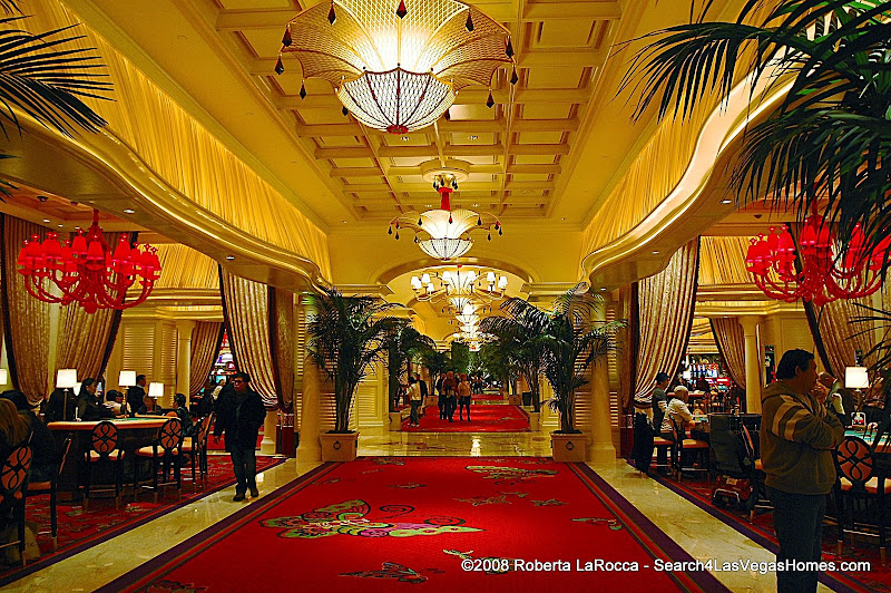 Encore Las Vegas Casino Main Aisle