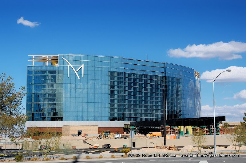 M Resort Las Vegas - View from the South Looking North