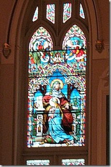 Stained Glass - Anunciation
