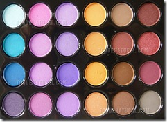 Pro 96 Full Color Eyeshadow Palette Fashion Eye Shadow004