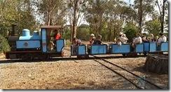 Weston Park Train