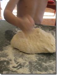 breadmaking - kneading