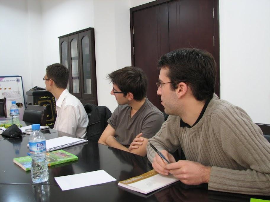 Florian, Nico et Julien