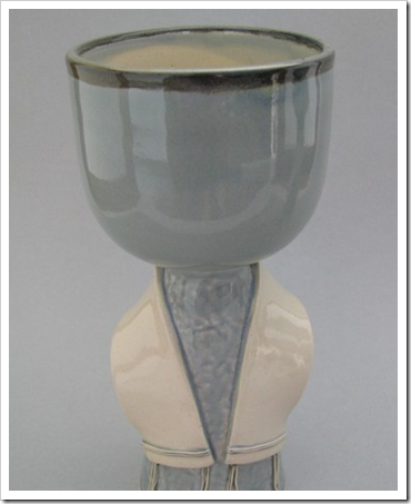 kiddush cup with tallit