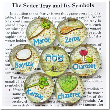 Passover Plate magnets