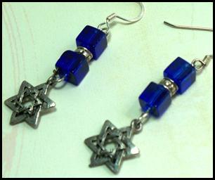 Jewish New Year Earrings