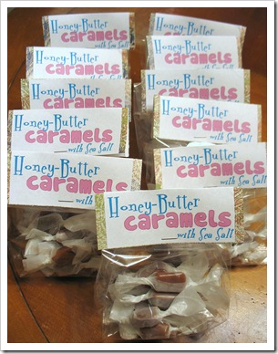 Honey Butter Caramels