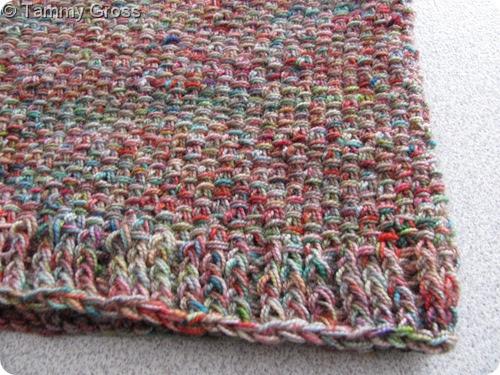tamdolls workspace: Knit Linen Stitch Cowl