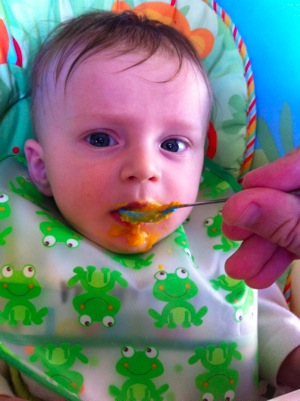 Eating Sweet Potatoes