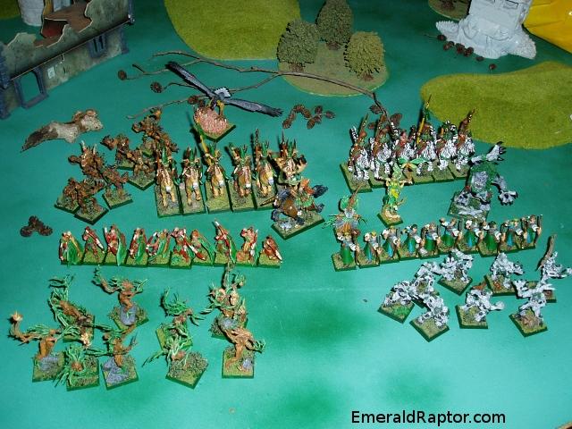 Wood elves, Skogalver til Warhammer