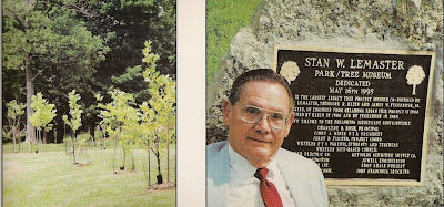 tree museum postcard