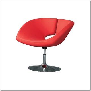 fauteuil-design-love-rouge