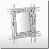 miroir bois naturel