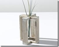 vase design Trèfle