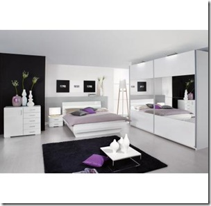 D co le style contemporain for Decoration chambre a coucher contemporain