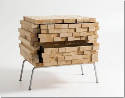 commode en bois