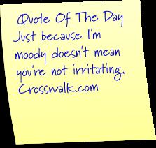 irritating quote