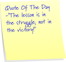 victory lesson