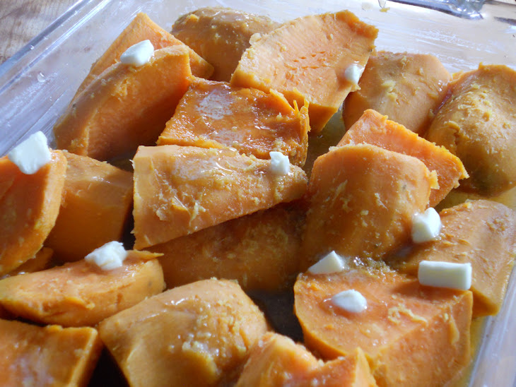 Roasted Sweet Potatoes with Ginger & Citrus for LouLou Recipe | Yummly