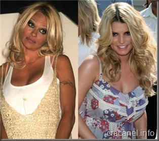 Pamela Anderson vs Jessica Simpson