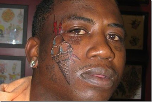 gucci tattoo on face. gucci new tattoo on face.