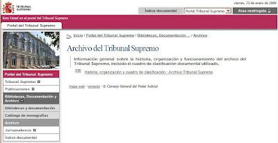 portal del Tribunal Supremo